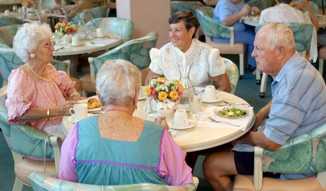 Probewohnen im Pflegeheim
