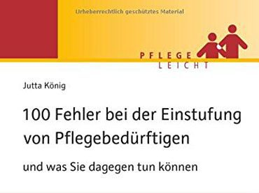 Buchtipp: 100 Fehler bei der Einstufung von Pflegebedürftigen