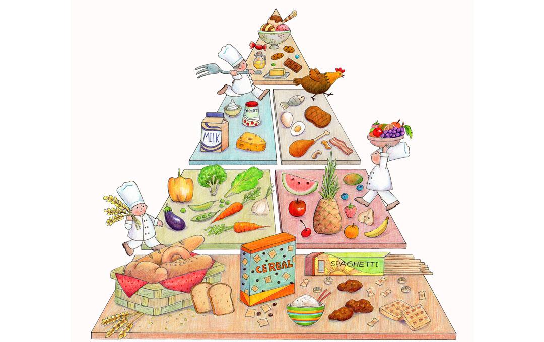 Gesunde und ausgewogene Ernährung ist die Voraussetzung nicht an Mangelernährung zu leiden.