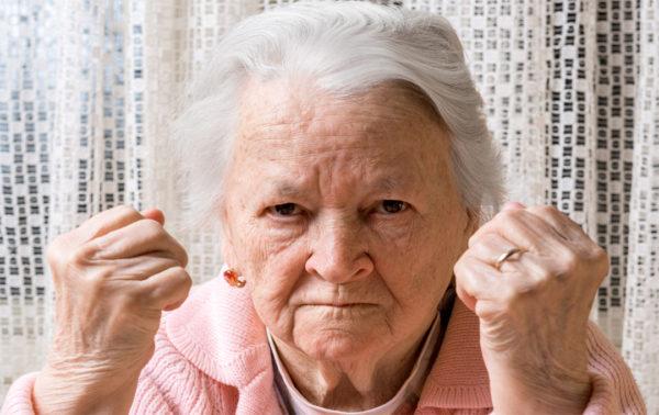 Wenn Oma kratzt und beißt