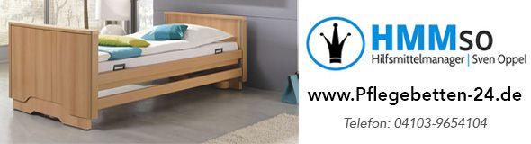 Pflegebetten / Krankenbetten mit Komfortfunktion