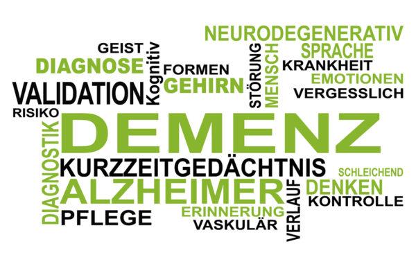 Kommunikation mit dementen Menschen. Demenz ist schleichend und wird oftmals sehr spät erkannt