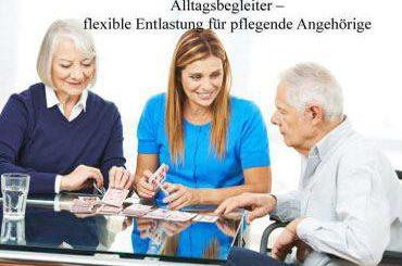 Alltagsbegleiter – die große Hilfe für Pflegebedürftige und pflegende Angehörige