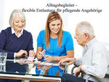 Alltagsbetreuer sorgen für Entlastung in der häuslichen Pflege
