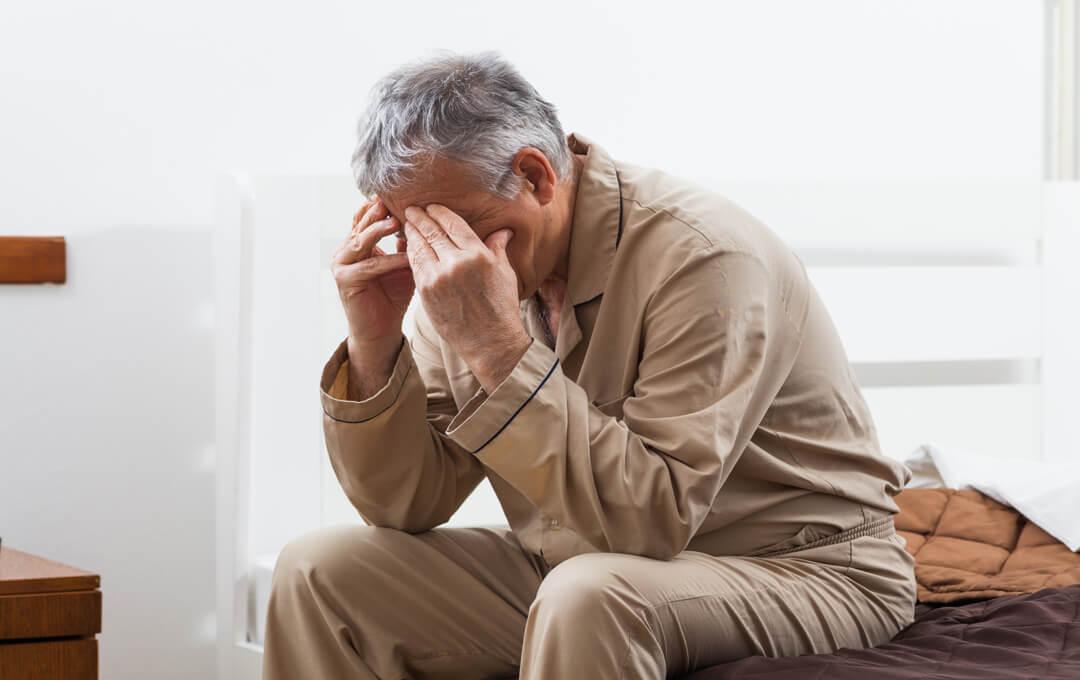 Demenziell erkrankte Menschen können oftmals nicht durchschlafen