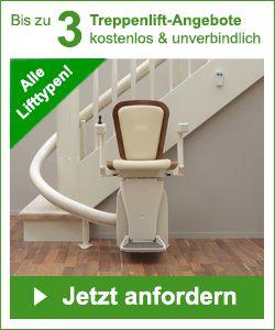 Erleichtern Sie sich das Treppensteigen durch einen Treppenlift