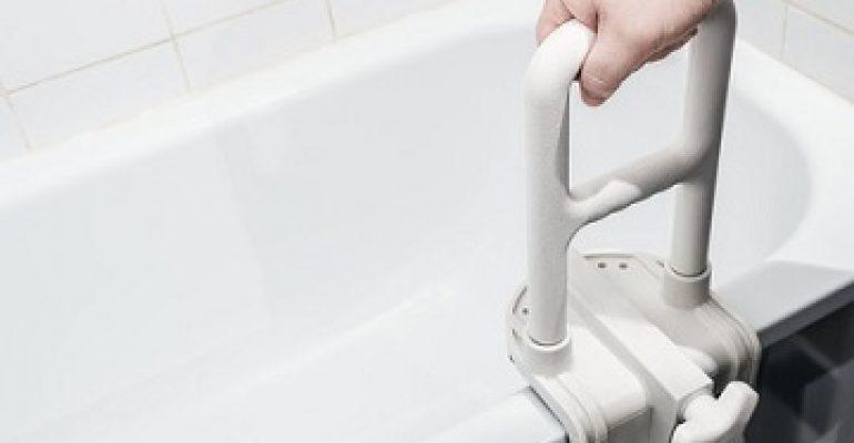 Badewanneneinstiegshilfen – Sicher in die Badewanne ein- und aussteigen.