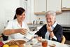 Betreuung von älteren Menschen