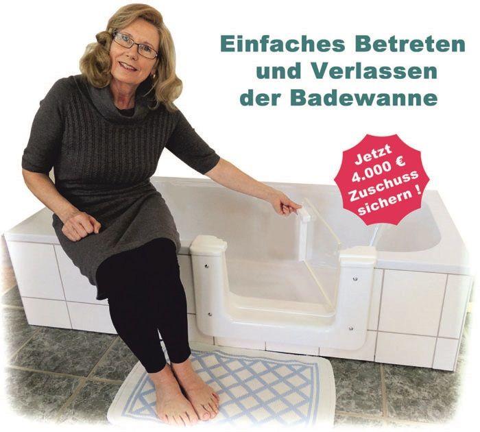 Nachträglicher Einbau einer Badewannentüre in die bestehende Badewanne