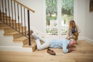 Sturzprophylaxe - Gefahr an Treppe