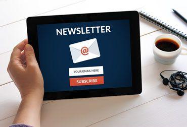 Newsletter abonnieren und informiert sein.