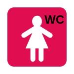 WC-Piktogramme helfen dementen Menschen bei der Orientierung