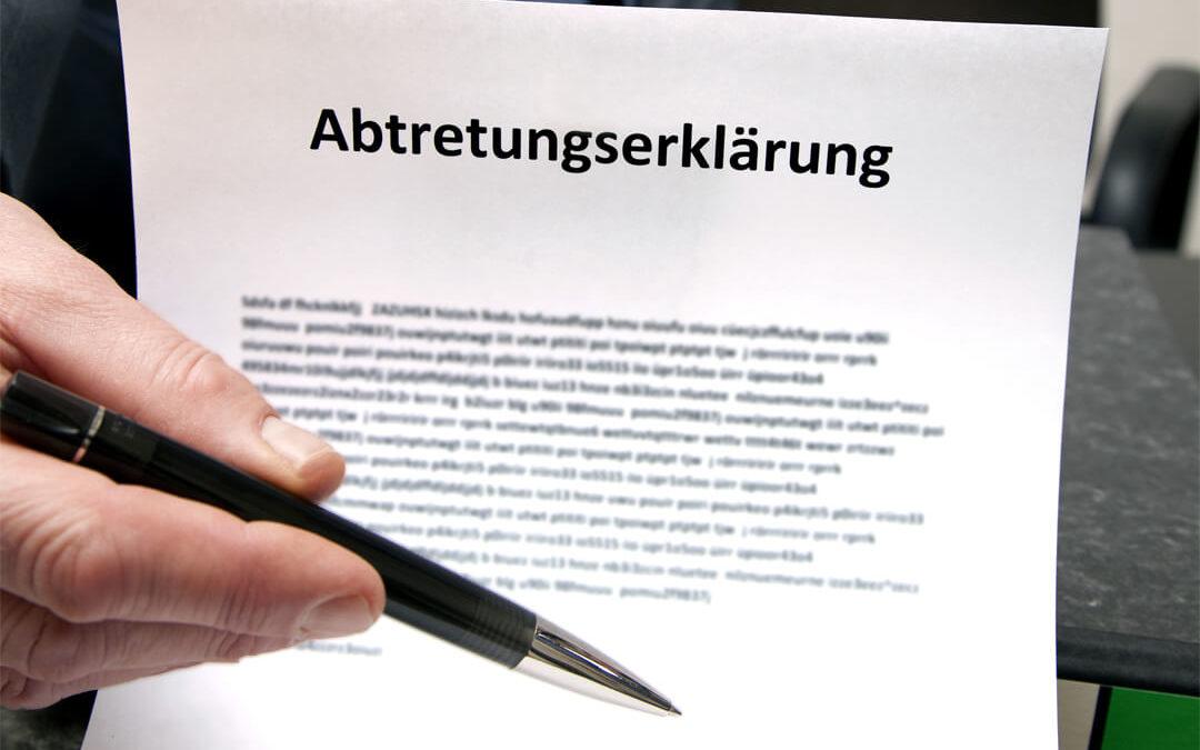 Achtung bei Abtretungserklärung für Entlastungsbetrag und Ersatzpflege