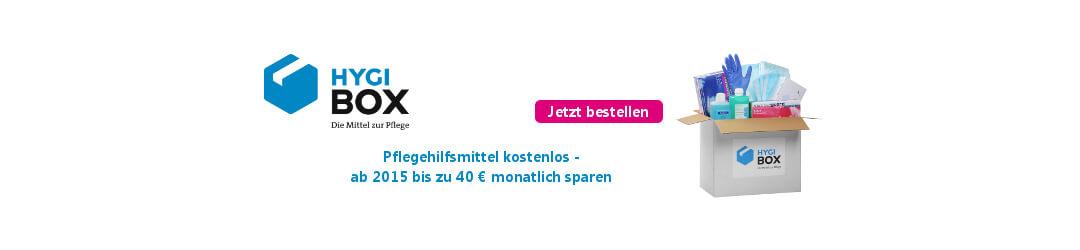 Sichern Sie sich Pflegehilfsmittel für 40 Euro jeden Monat