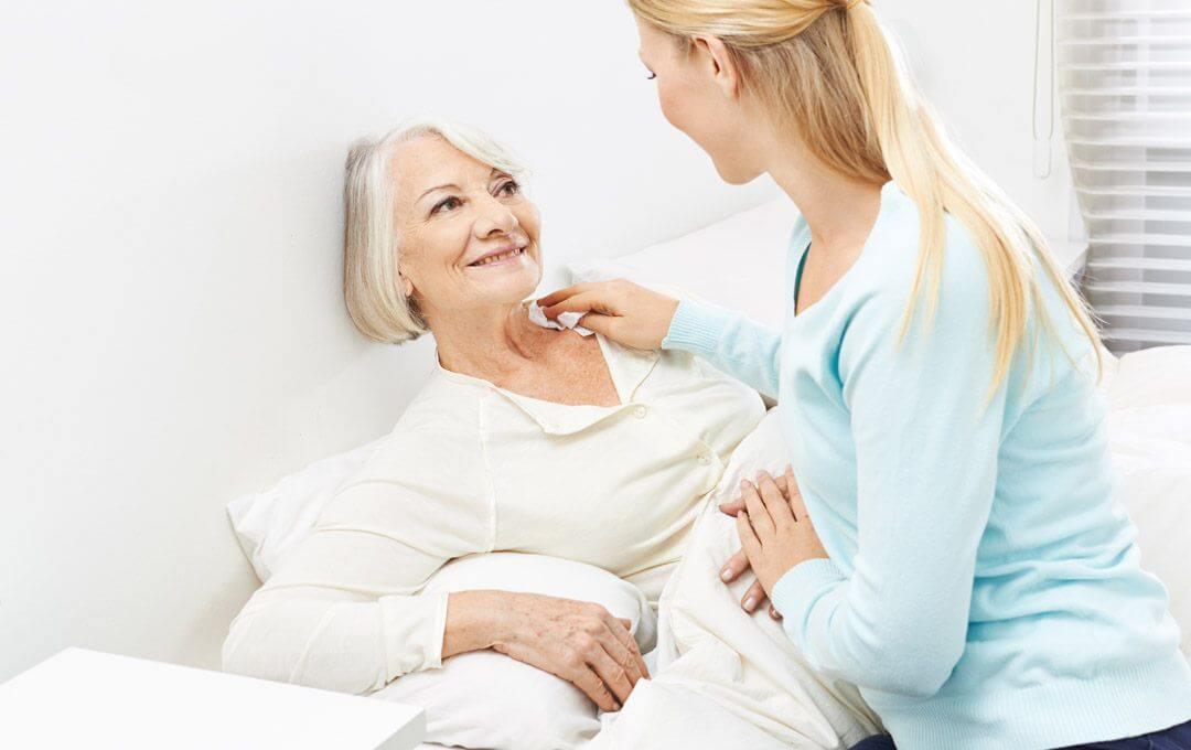 Pflegende Angehörige pflegen in der Regel ihre Eltern, Kinder oder andere nahe Verwandten