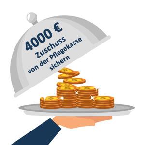 Sichern Sie sich noch heute einen Zuschuss von 4000 Euro für Ihr persönliche Badsanierung