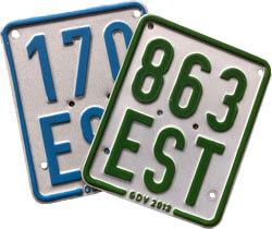 Versicherungskennzeichen für Seniorenmobile