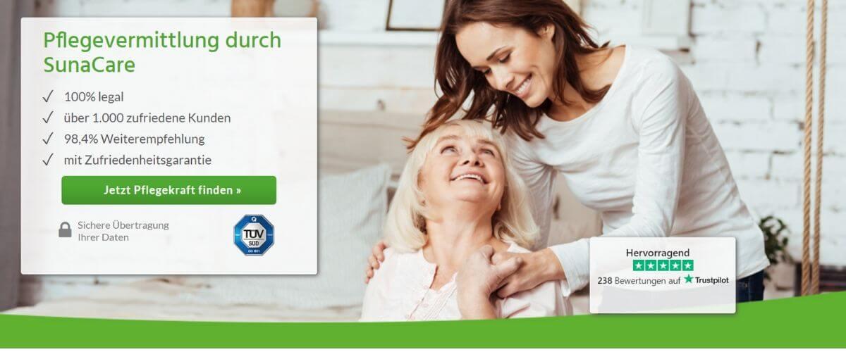 24h-Pflege durch osteuropäische Pflegekräfte