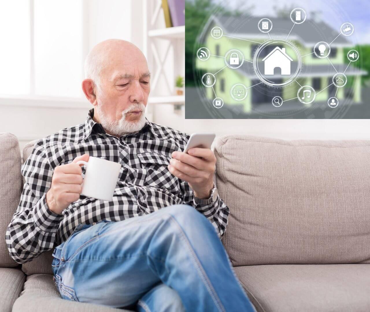 Wie uns Smart Home das Leben im Alter erleichtert