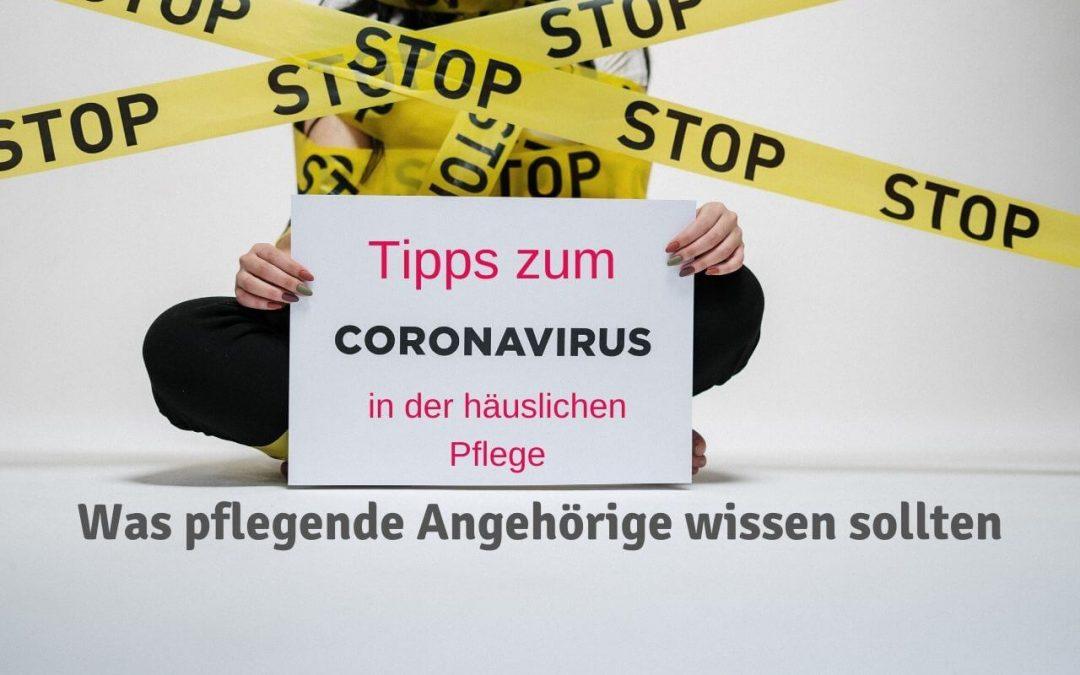 Coronavirus in der häuslichen Pflege