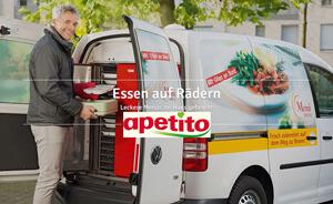 Essen auf Rädern - Auslieferungswagen