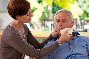 Schlaganfall und Pflegebedürftigkeit