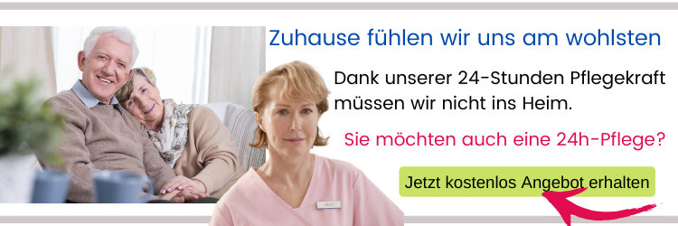 24h-Pflege in häuslicher Gemeinschaft durch Pflegekraft aus Osteuropa