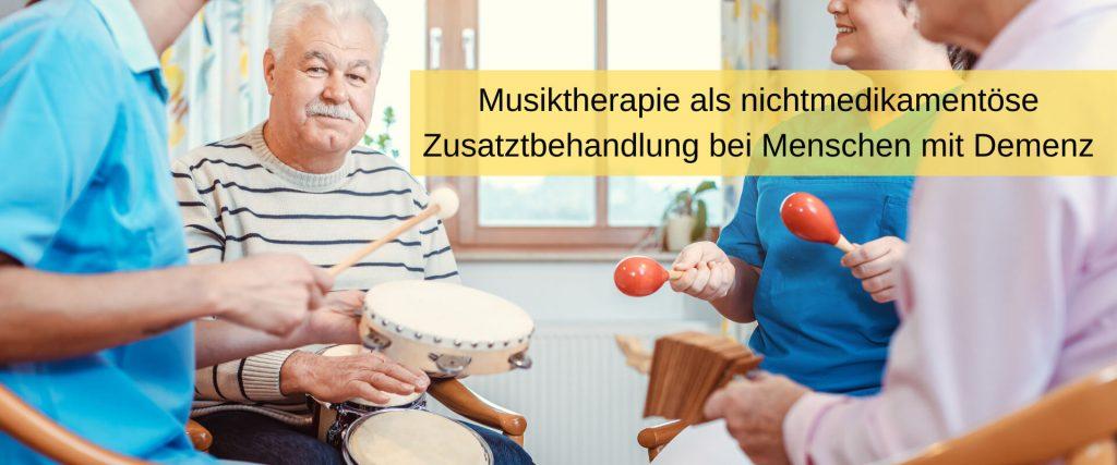 Musiktherapie für Menschen mit Demenz