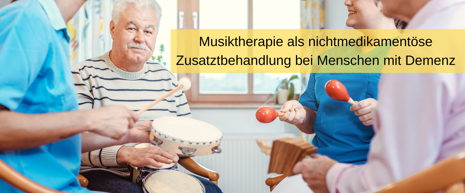Musiktherapie Demenz