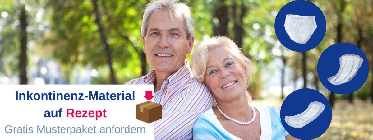 Inkontinenzmaterial auf Rezept