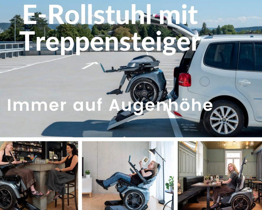 Elektro-Rolli mit höhenverstellbarem Sitz