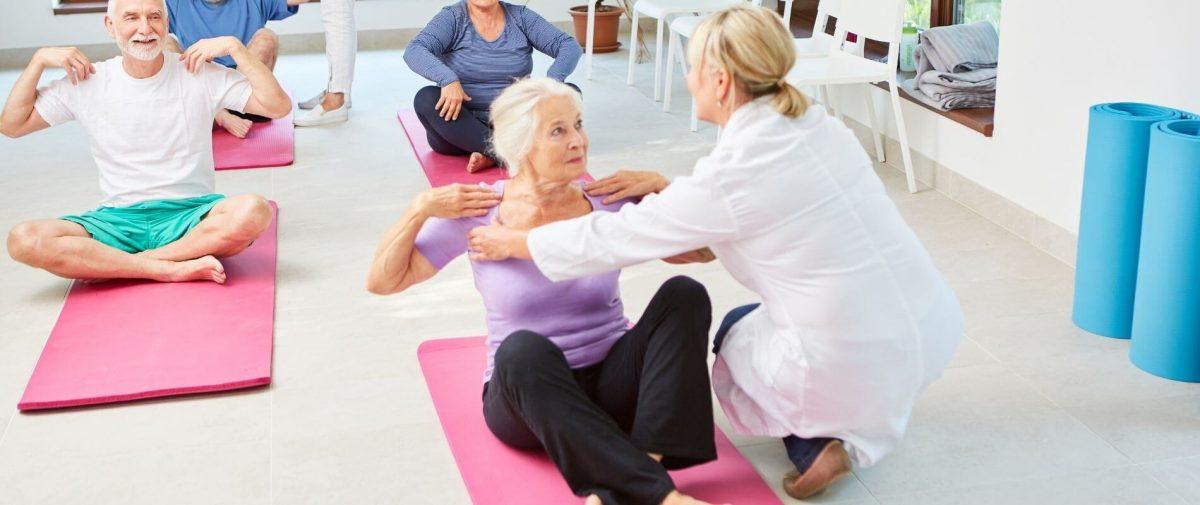 Rehasport ist auch mit Pflegegrad möglich.
